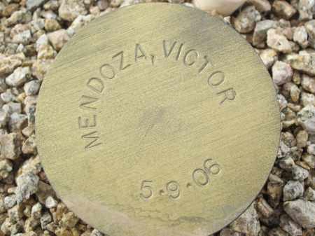 MENDOZA, VICTOR - Maricopa County, Arizona | VICTOR MENDOZA - Arizona Gravestone Photos