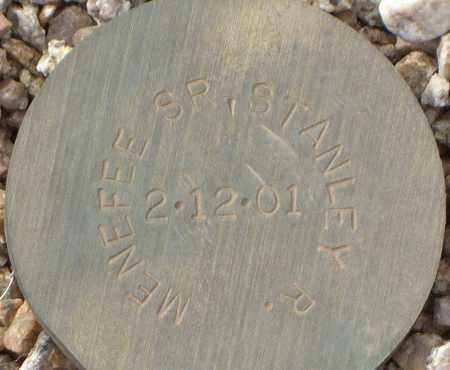 MENEFEE, STANLEY R, SR - Maricopa County, Arizona   STANLEY R, SR MENEFEE - Arizona Gravestone Photos