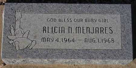 MENJARES, ALICIA N. - Maricopa County, Arizona | ALICIA N. MENJARES - Arizona Gravestone Photos