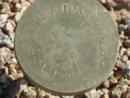 MENJIOAR, CARLOS - Maricopa County, Arizona | CARLOS MENJIOAR - Arizona Gravestone Photos