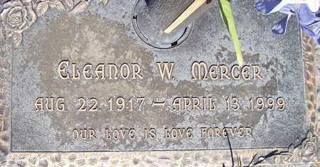 MERCER, ELEANOR W. - Maricopa County, Arizona | ELEANOR W. MERCER - Arizona Gravestone Photos