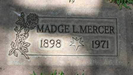 MERCER, MADGE L. - Maricopa County, Arizona | MADGE L. MERCER - Arizona Gravestone Photos