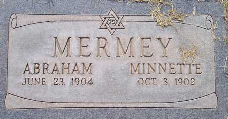 MERMEY, ABRAHAM - Maricopa County, Arizona   ABRAHAM MERMEY - Arizona Gravestone Photos