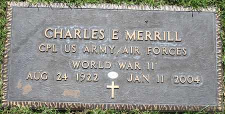 MERRILL, CHARLES E - Maricopa County, Arizona | CHARLES E MERRILL - Arizona Gravestone Photos