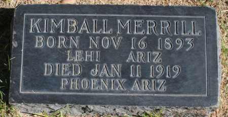MERRILL, KIMBALL - Maricopa County, Arizona | KIMBALL MERRILL - Arizona Gravestone Photos