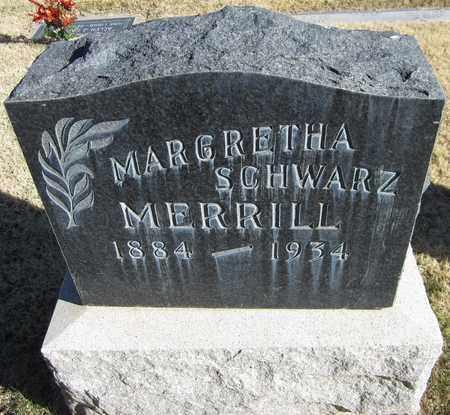 MERRILL, MARGARETHA - Maricopa County, Arizona | MARGARETHA MERRILL - Arizona Gravestone Photos