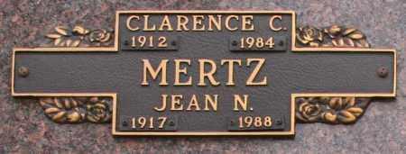 MERTZ, JEAN N - Maricopa County, Arizona | JEAN N MERTZ - Arizona Gravestone Photos
