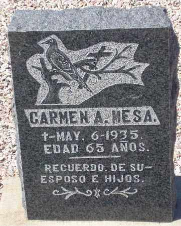 MESA, CARMEN A. - Maricopa County, Arizona | CARMEN A. MESA - Arizona Gravestone Photos