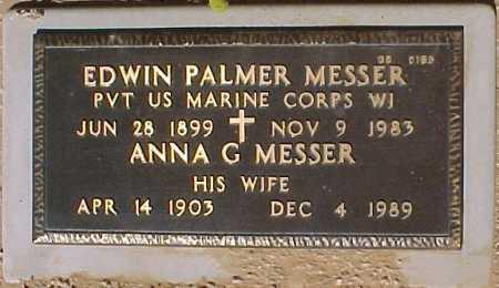 MESSER, EDWIN PALMER - Maricopa County, Arizona | EDWIN PALMER MESSER - Arizona Gravestone Photos