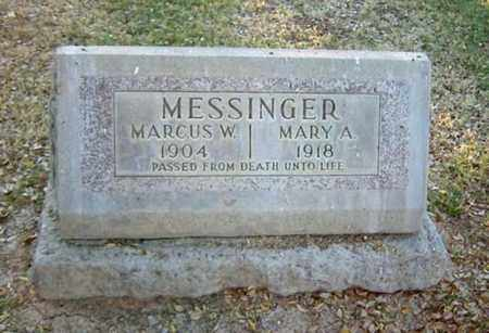 ROBERTS MESSINGER, MARY A. - Maricopa County, Arizona | MARY A. ROBERTS MESSINGER - Arizona Gravestone Photos