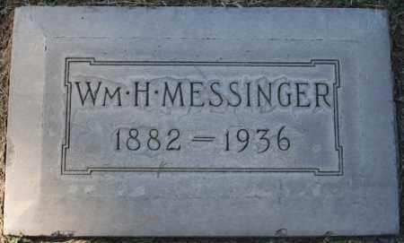 MESSINGER, WILLIAM H - Maricopa County, Arizona   WILLIAM H MESSINGER - Arizona Gravestone Photos