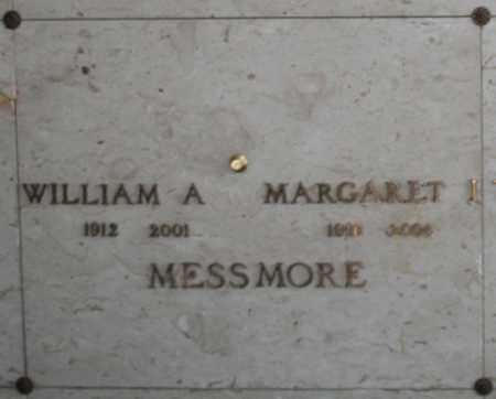 MESSMORE, MARGARET I - Maricopa County, Arizona | MARGARET I MESSMORE - Arizona Gravestone Photos