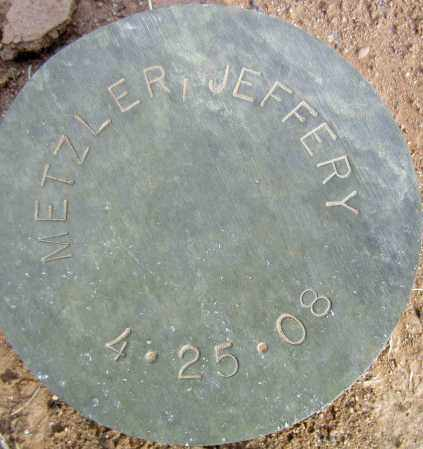 METZLER, JEFFERY - Maricopa County, Arizona | JEFFERY METZLER - Arizona Gravestone Photos