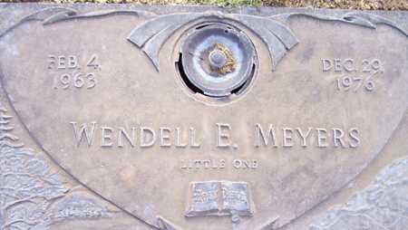 MEYERS, WENDELL E. - Maricopa County, Arizona   WENDELL E. MEYERS - Arizona Gravestone Photos