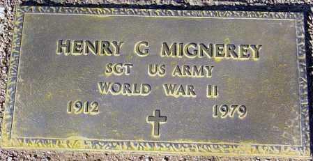 MIGNEREY, HENRY G. - Maricopa County, Arizona | HENRY G. MIGNEREY - Arizona Gravestone Photos