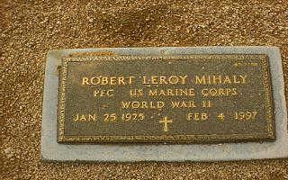MIHALY, ROBERT LEROY - Maricopa County, Arizona   ROBERT LEROY MIHALY - Arizona Gravestone Photos