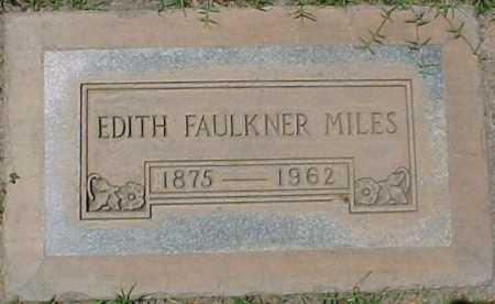 FAULKNER MILES, EDITH - Maricopa County, Arizona | EDITH FAULKNER MILES - Arizona Gravestone Photos