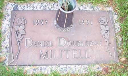 MILITELL, DENISE DOUBLEDAY - Maricopa County, Arizona | DENISE DOUBLEDAY MILITELL - Arizona Gravestone Photos