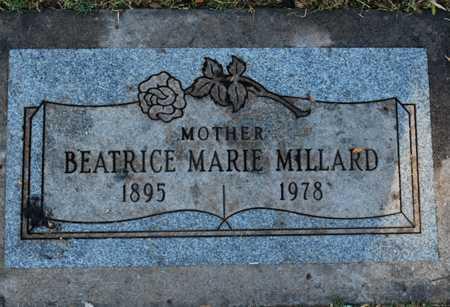 MILLARD, BEATRICE MARIE - Maricopa County, Arizona | BEATRICE MARIE MILLARD - Arizona Gravestone Photos