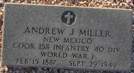 MILLER, ANDREW J. - Maricopa County, Arizona | ANDREW J. MILLER - Arizona Gravestone Photos