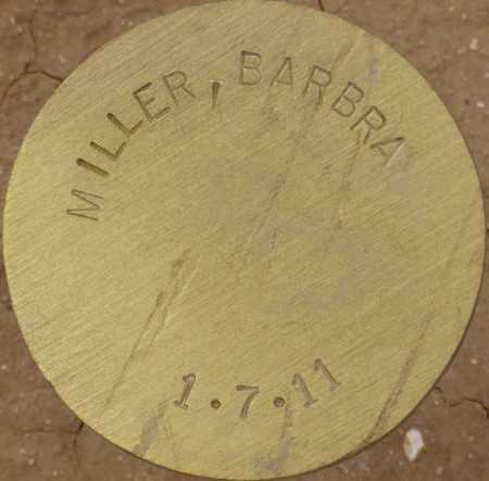 MILLER, BARBRA - Maricopa County, Arizona   BARBRA MILLER - Arizona Gravestone Photos