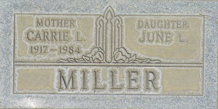 MILLER, CARRIE L - Maricopa County, Arizona | CARRIE L MILLER - Arizona Gravestone Photos