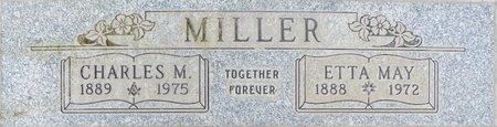 MILLER, CHARLES M - Maricopa County, Arizona | CHARLES M MILLER - Arizona Gravestone Photos