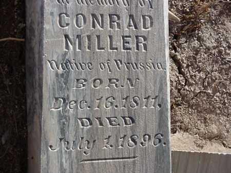 MILLER, CONRAD - Maricopa County, Arizona   CONRAD MILLER - Arizona Gravestone Photos