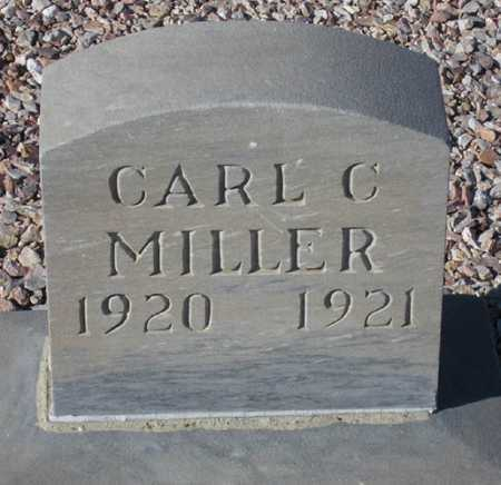 MILLER, CARL C(LIFFORD) - Maricopa County, Arizona | CARL C(LIFFORD) MILLER - Arizona Gravestone Photos