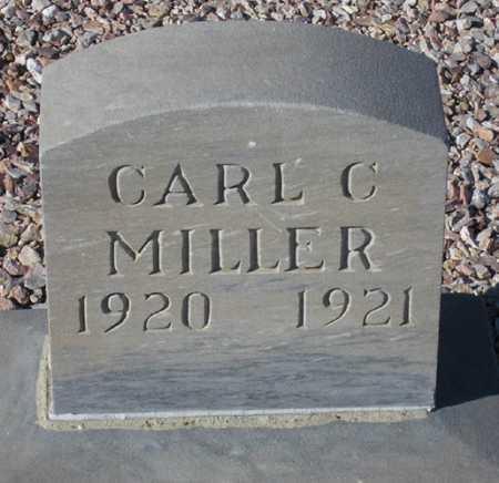 MILLER, CARL C(LIFFORD) - Maricopa County, Arizona | CARL C(LIFFORD) MILLER - Arizona Gravestone Photos