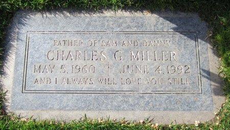 MILLER, CHARLES G. - Maricopa County, Arizona   CHARLES G. MILLER - Arizona Gravestone Photos