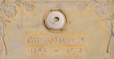 MILLER, CHET - Maricopa County, Arizona | CHET MILLER - Arizona Gravestone Photos