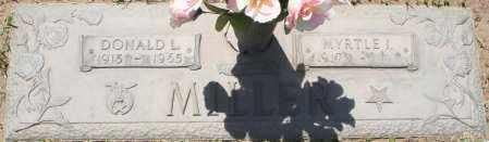 MILLER, MYRTLE I. - Maricopa County, Arizona | MYRTLE I. MILLER - Arizona Gravestone Photos
