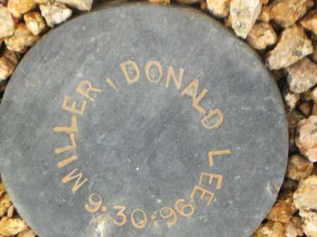 MILLER, DONALD LEE - Maricopa County, Arizona   DONALD LEE MILLER - Arizona Gravestone Photos