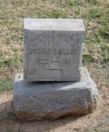 MILLER, DOSCAR O. - Maricopa County, Arizona   DOSCAR O. MILLER - Arizona Gravestone Photos