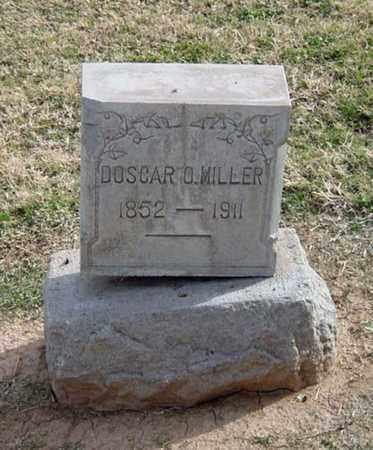 MILLER, DOSCAR O. - Maricopa County, Arizona | DOSCAR O. MILLER - Arizona Gravestone Photos