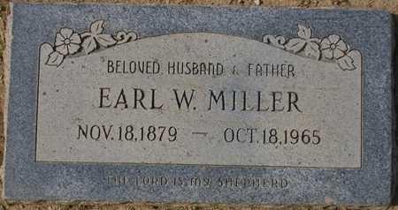 MILLER, EARL W. - Maricopa County, Arizona | EARL W. MILLER - Arizona Gravestone Photos