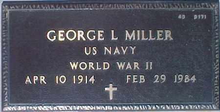 MILLER, GEORGE L. - Maricopa County, Arizona | GEORGE L. MILLER - Arizona Gravestone Photos