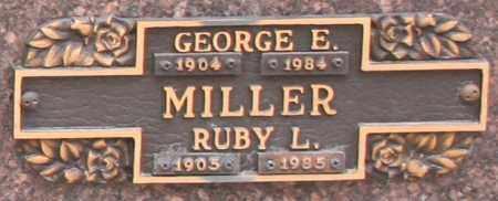 MILLER, GEORGE E - Maricopa County, Arizona   GEORGE E MILLER - Arizona Gravestone Photos