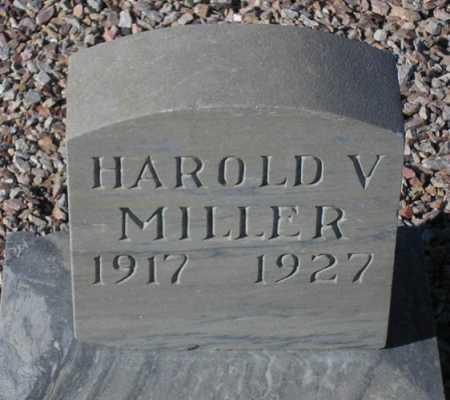 MILLER, HAROLD V(ARNEY) - Maricopa County, Arizona | HAROLD V(ARNEY) MILLER - Arizona Gravestone Photos