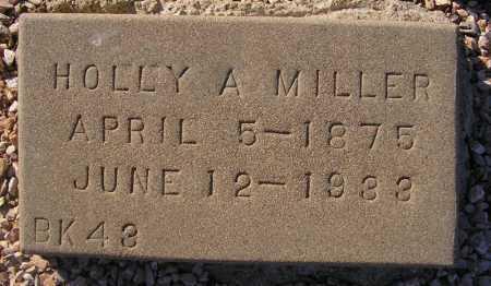 MILLER, HOLLY A(NDERSON) - Maricopa County, Arizona   HOLLY A(NDERSON) MILLER - Arizona Gravestone Photos