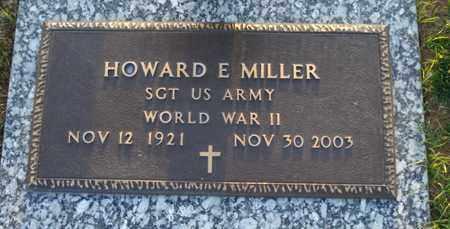 MILLER, HOWARD E. - Maricopa County, Arizona   HOWARD E. MILLER - Arizona Gravestone Photos