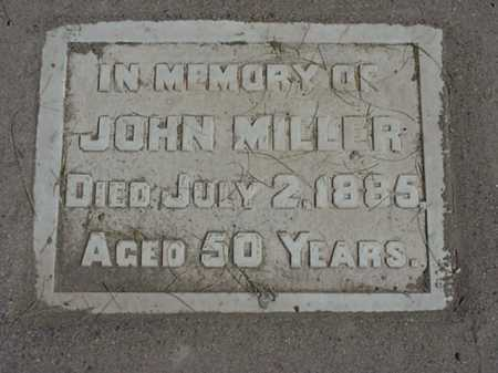 MILLER, JOHN - Maricopa County, Arizona   JOHN MILLER - Arizona Gravestone Photos