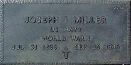MILLER, JOSEPH I - Maricopa County, Arizona | JOSEPH I MILLER - Arizona Gravestone Photos