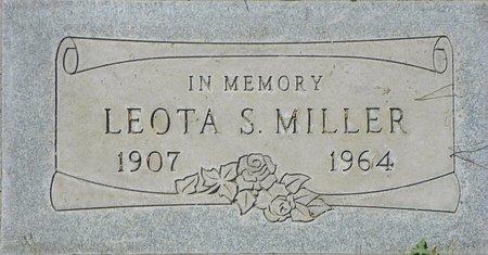 MILLER, LEOTA - Maricopa County, Arizona | LEOTA MILLER - Arizona Gravestone Photos