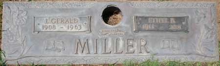 MILLER, L. GERALD - Maricopa County, Arizona   L. GERALD MILLER - Arizona Gravestone Photos