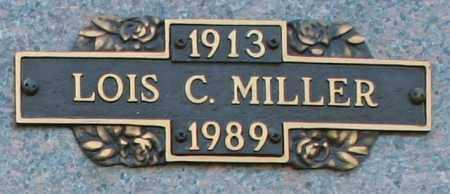 MILLER, LOIS C - Maricopa County, Arizona | LOIS C MILLER - Arizona Gravestone Photos