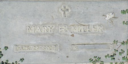 MILLER, MARY H - Maricopa County, Arizona | MARY H MILLER - Arizona Gravestone Photos