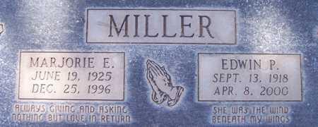 MILLER, MARJORIE E. - Maricopa County, Arizona | MARJORIE E. MILLER - Arizona Gravestone Photos