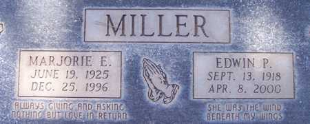 MILLER, EDWIN P. - Maricopa County, Arizona | EDWIN P. MILLER - Arizona Gravestone Photos